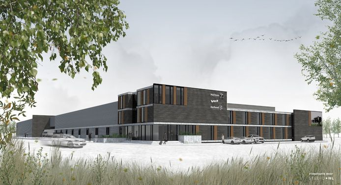 Hofman Animal Care Center betrok de nieuwbouw in februari.