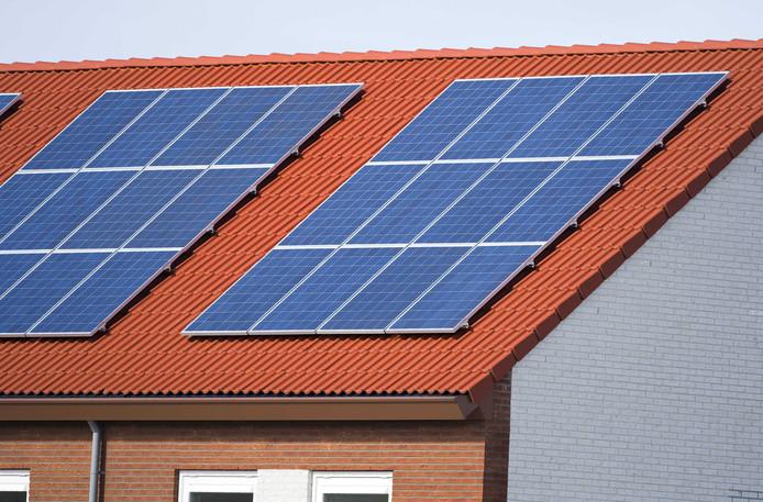 Nieuwbouwhuizen in Heerhugowaard.