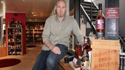 Voor 15.000 euro aan whisky en rum gestolen in pop-upwinkel