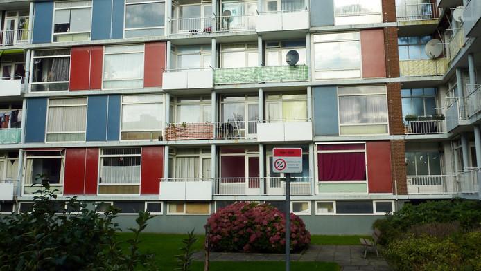 Vastgoed van Vestia, voor de financiële problemen de grootste woningcorporatie van Nederland.