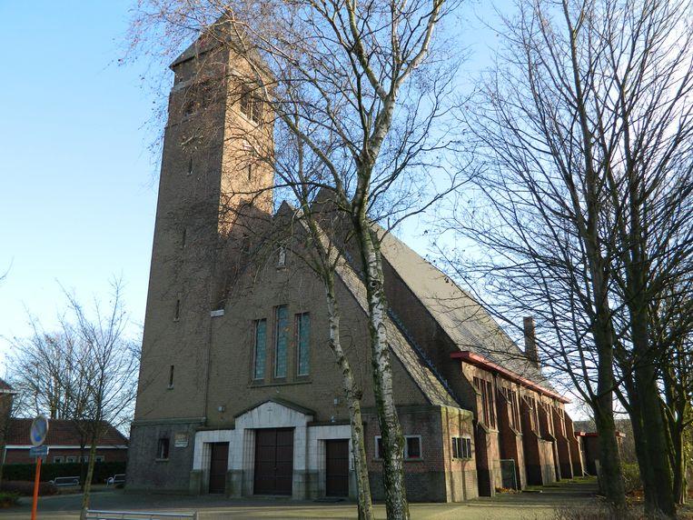 De kerk van Rieme.