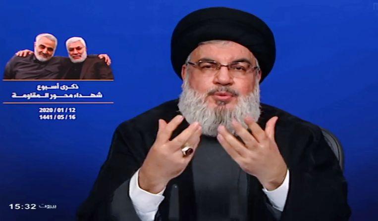 Op Nieuwjaarsdag had generaal Soleimani in Damascus afgesproken met Hassan Nasrallah, de secretaris-generaal van Hezbollah. Die zou hem gewaarschuwd hebben.