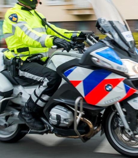 Motoragent betrokken bij aanrijding Zwolse fietser