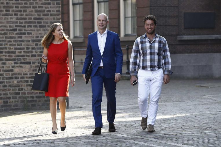 Jonathan van der Geer (rechts). Beeld ANP