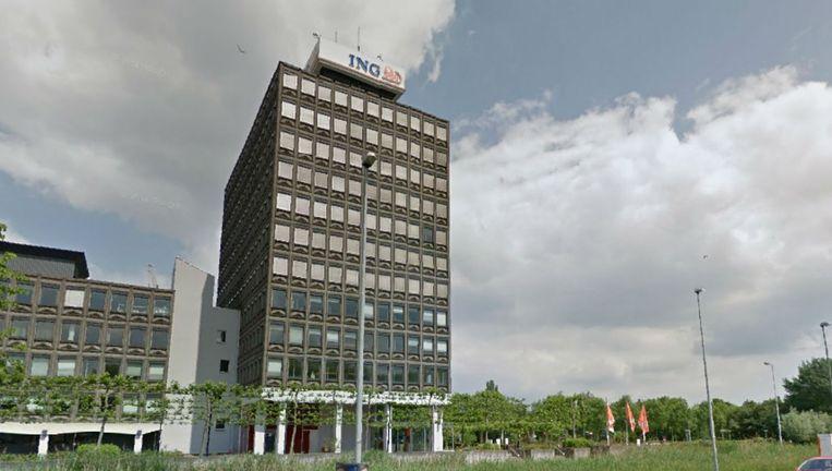 Het kantorenpand aan de Haarlemmerweg zoals het er nu bij ligt Beeld Google Streetview