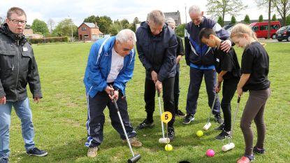 Personen met mentale beperking en Balense leerlingen sporten samen