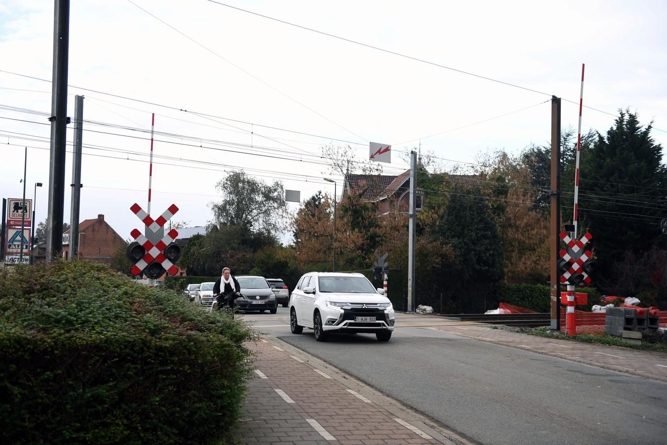 Overweg Pleinstraat in Holsbeek