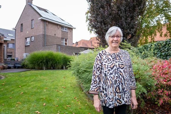 Lieve Coeckelbergh verhuurt 9 domiciliekamers in een huis naast haar eigen woning