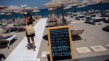 Vooral toeristen bij laatste Griekse besmettingen