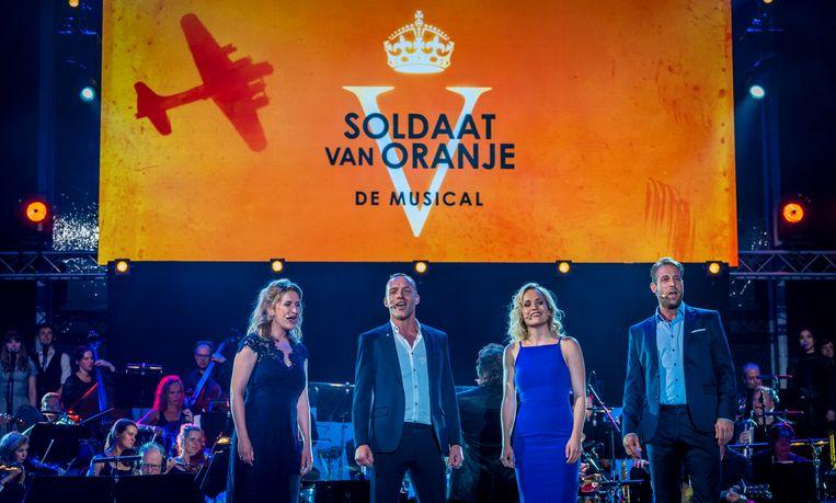 Producent Fred Boot zei dat Soldaat van Oranje voorlopig nog wel te zien zal zijn in Nederland. Beeld ANP Kippa