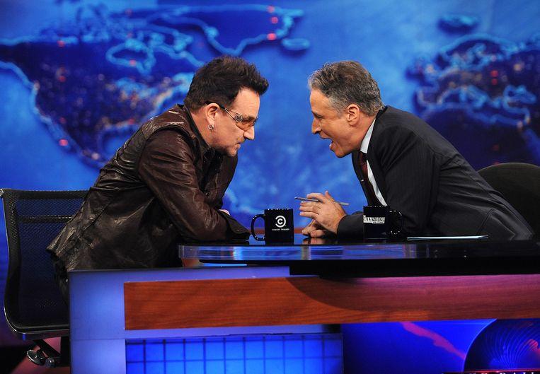 Met U2-zanger Bono. Beeld null