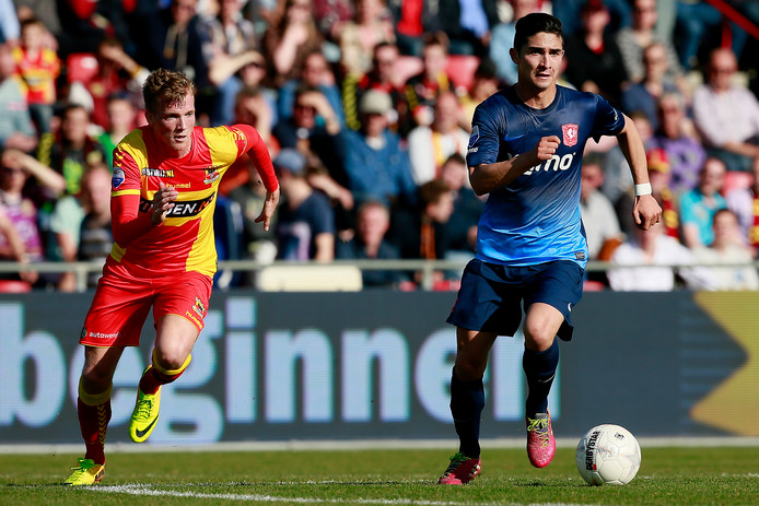 Felipe Gutiérrez in zijn tijd bij FC Twente.