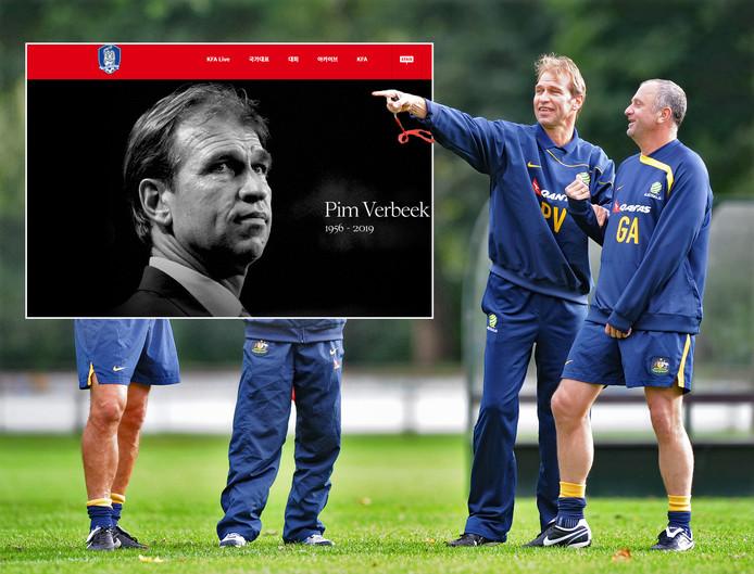 Pim Verbeek, oud-trainer van De Graasfchap, overleed op 63-jarige leeftijd.