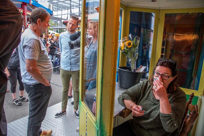 Exploitante Jellie Nieborg van de Muizenstad was zondagmiddag tot tranen toe bewogen.