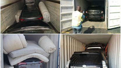 Bende opgerold die gestolen terreinwagens naar Afrika verscheepte