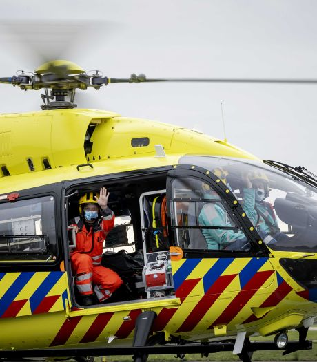 Coronahelikopter weer ingezet vanuit Vliegbasis Volkel, eerste patiënt verplaatst