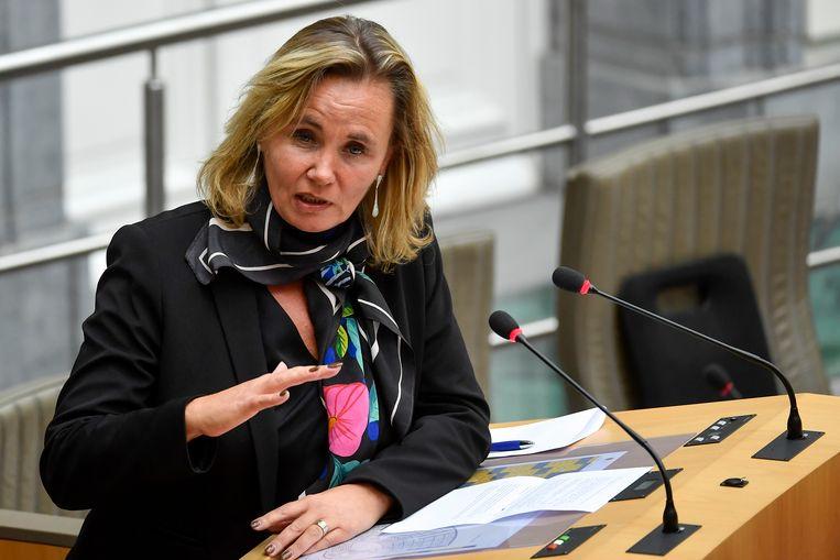 Vlaams minister Liesbeth Homans.