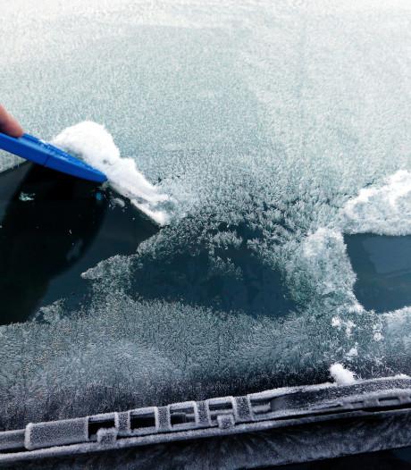 Dinsdag code geel: problemen verwacht door sneeuw