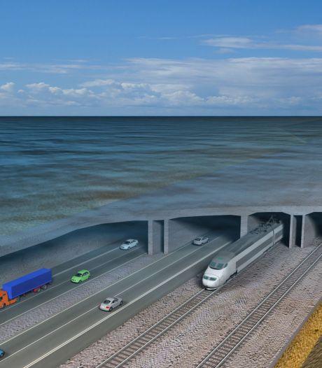 Deze 18 kilometer lange tunnel verbindt Duitsland straks rechtstreeks met Denemarken