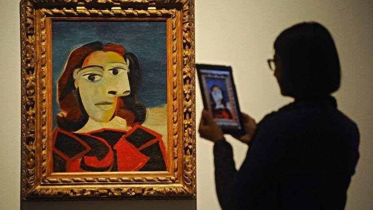 Werk van Picasso. Beeld afp