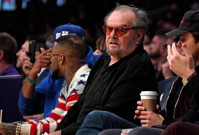 Jack Nicholson naast zijn zoon Ray