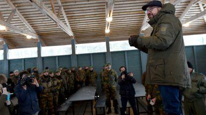 Premier Michel vindt dat ook volgende regering geen kazernes mag sluiten