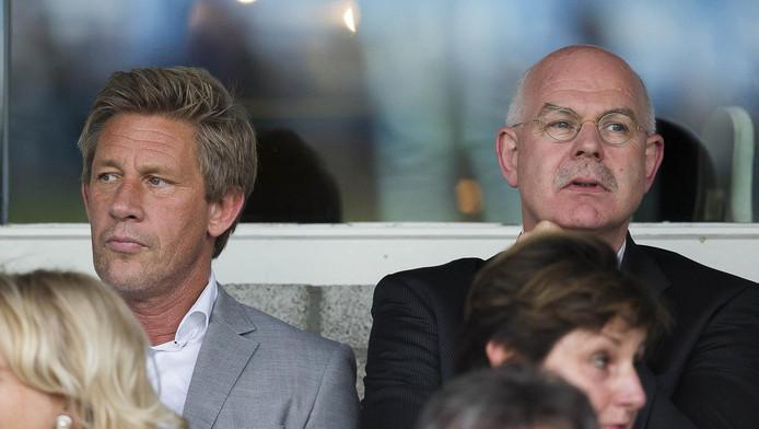 Marcel Brands (links) en Toon Gerbrands (rechts)