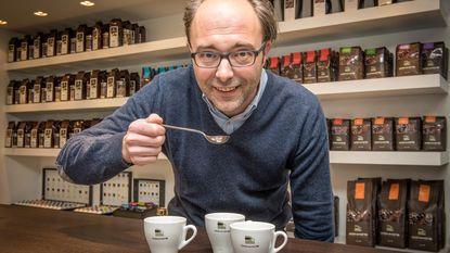 Louis beste koffieproever en -zetter van België