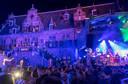 Het gevelconcert op de Grote-Markt is een van de hoogtepunten op de 2de dag van de zomerfeesten in Nijmegen.