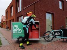 Fietskoeriers gaan pakketjes Wehkamp bezorgen