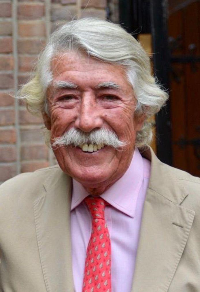 Jonkheer Bib van Rijckevorsel uit Vught overleed zaterdag op 77-jarige leeftijd.