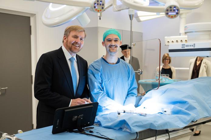 Het TechMed Centre, dat op 29 november vorig jaar werd geopend door Koning Willem-Alexander, speelt een hoofdrol bij de Universiteit Twente tijdens de e-healthweek.
