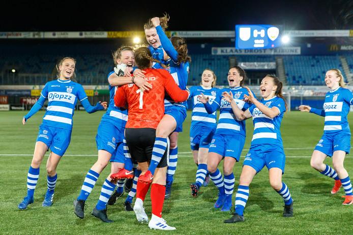 Kunnen de vrouwen van PEC de stunt van de mannen tegen Ajax herhalen? Pakken de Zwolse vrouwen de KNVB-beker vanavond?