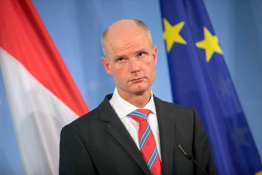 Minister Stef Blok.