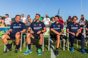Sander Boschker, Marino Pusic, Gonzalo Garcia Garcia en Theo ten Caat (vlnr).