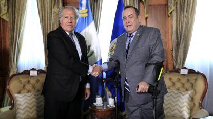 Guatemala verbreekt diplomatieke banden met Venezuela