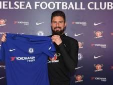 Chelsea presenteert Giroud en verhuurt Batshuayi aan Dortmund