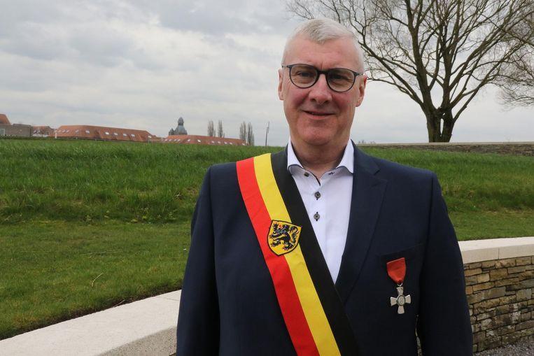 Sandy Evrard is al 16 jaar burgemeester van Mesen.