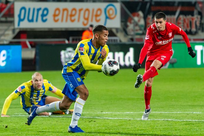 Een moment uit het bekerduel FC Twente - RKC van vorig seizoen.