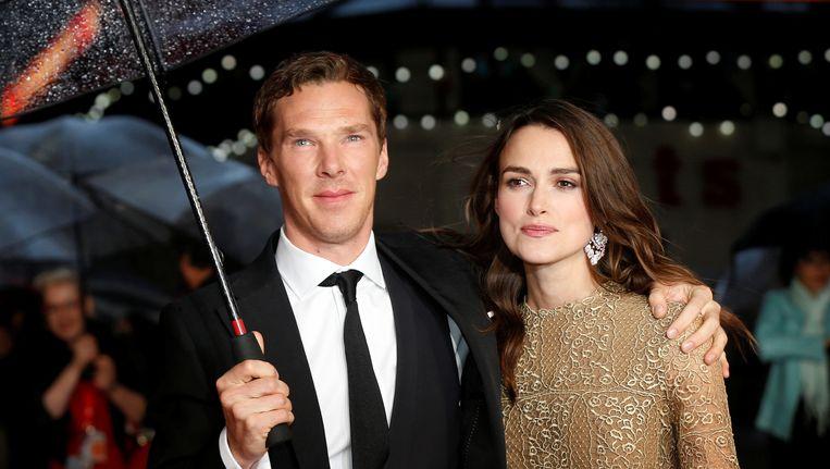 Benedict Cumberbatch en Keira Knightley zijn tégen een Brexit. Beeld reuters