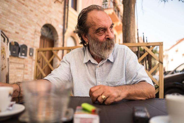 Paolo Bernabucci, directeur van GUS onlus, een organisatie die migranten ondersteunt in Macerata: 'Ik maak mij zorgen om Italië.' Beeld  Nicola Zolin