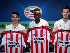 PSV presenteert 'Chucky' Lozano onder massale belangstelling