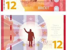 Brexit eurobiljet uit Woerden, maar je kunt er niet mee betalen