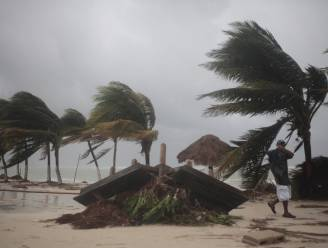 Orkaan Ernesto houdt huis op Mexicaanse Yucatan