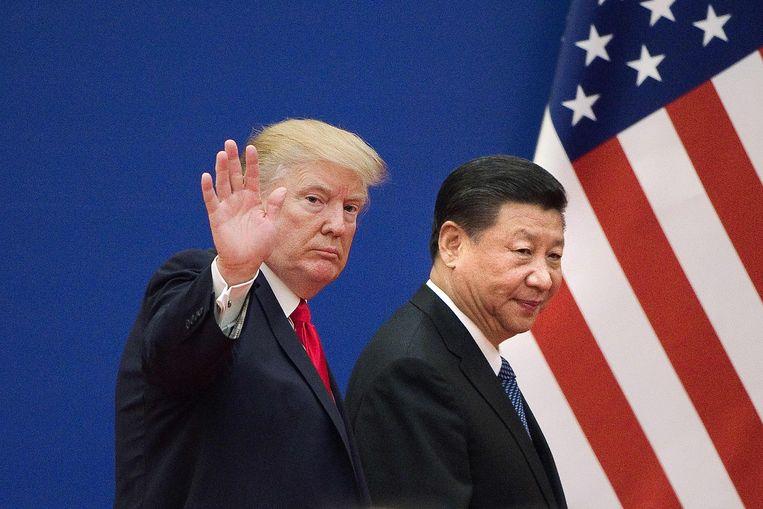 Trump met zijn Chinese collega Xi Jinping anderhalf jaar geleden.
