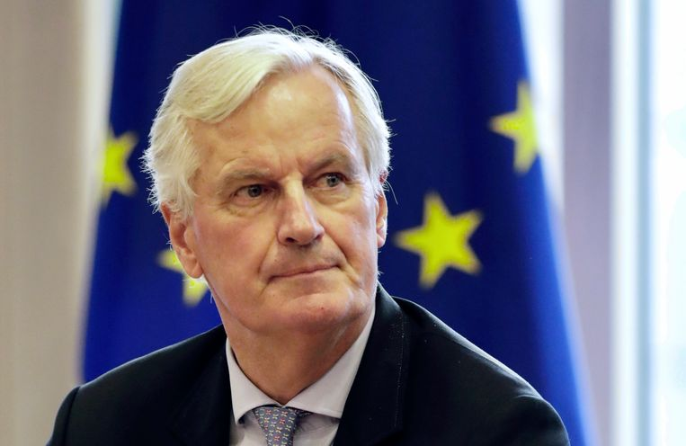 Europees hoofdonderhandelaar Michel Barnier