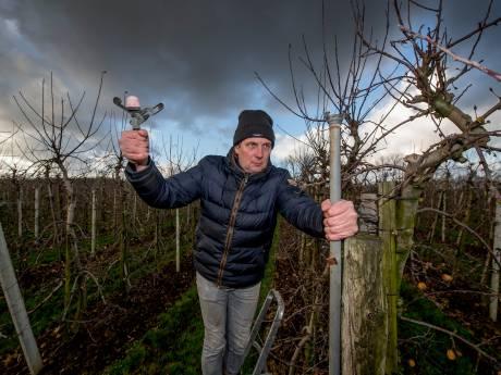 Vijftig watersproeiers gejat bij fruitteler: 'Dit levert niks op'
