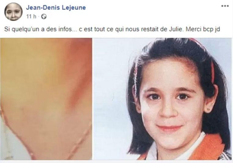 Papa Jean-Denis Lejeune deelde deze oproep op Facebook.