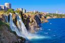 Waterval Duden in Antalya.