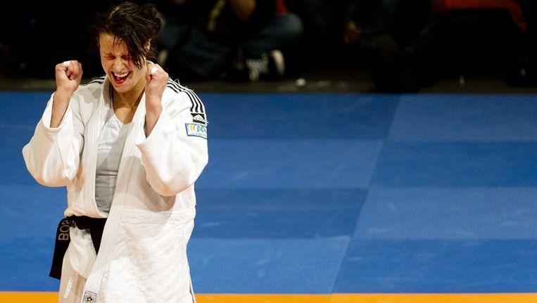Edith Bosch won ook vorig jaar het EK. Beeld anp